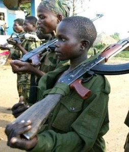 Are we outraged about child soldiers?