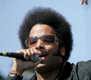 Boots Riley Rapping